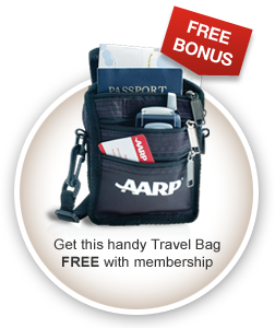 Aarp Membership Free Travel Bag